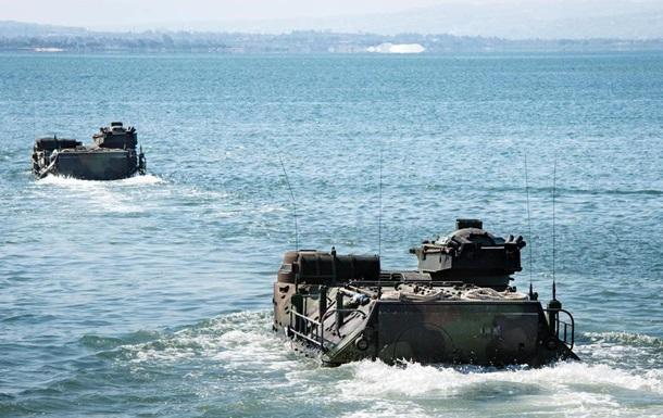 В США восемь военных пропали после ЧП с машиной-амфибией