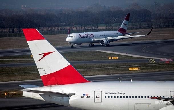 Австрия сняла запрет на авиаперелеты в Украину