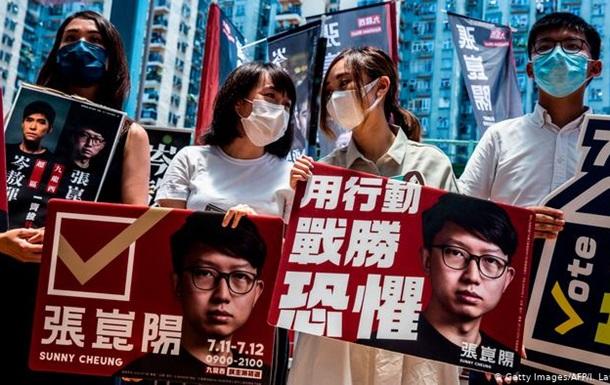 Вибори в Гонконгу відклали: влада стверджує, що через коронавірус