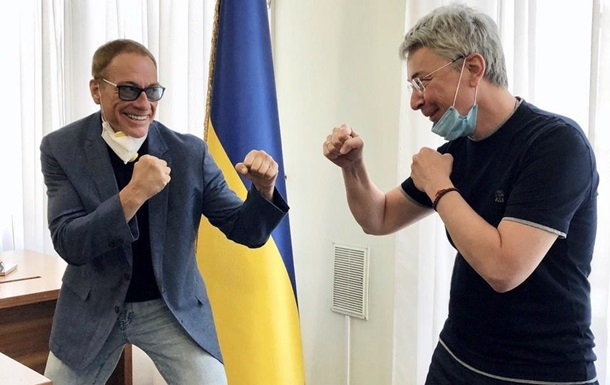 Netflix снимает в Украине фильм с Ван Даммом