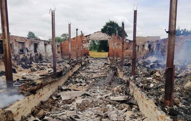 В Житомирской области при пожаре погибли 30 козлят