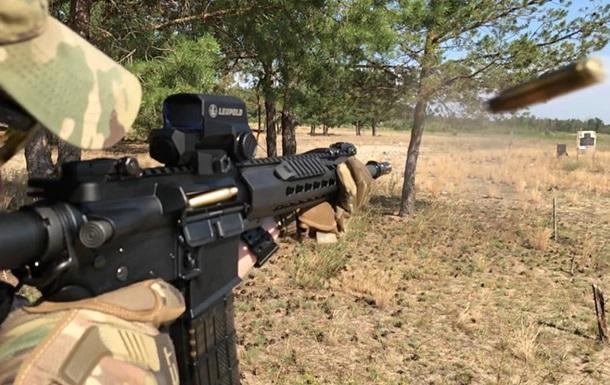 Пограничники получили натовские штурмовые винтовки