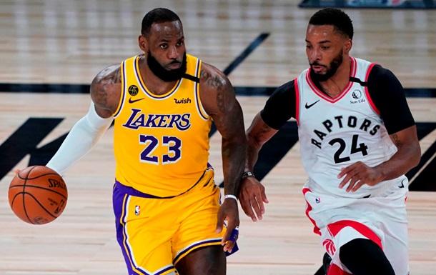 НБА: Лейкерс не змогли обіграти Торонто, Кліпперс сильніші за Новий Орлеан