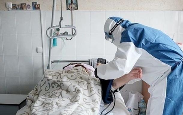 За последнюю неделю от COVID в Украине скончались 88 больных