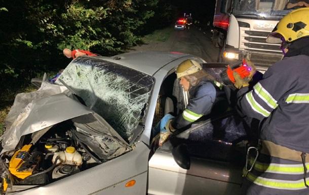 В аварии на Киевщине погибли четыре человека