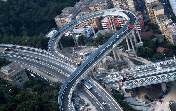 У Генуї відкривають новий міст на місці іншого, що обвалився