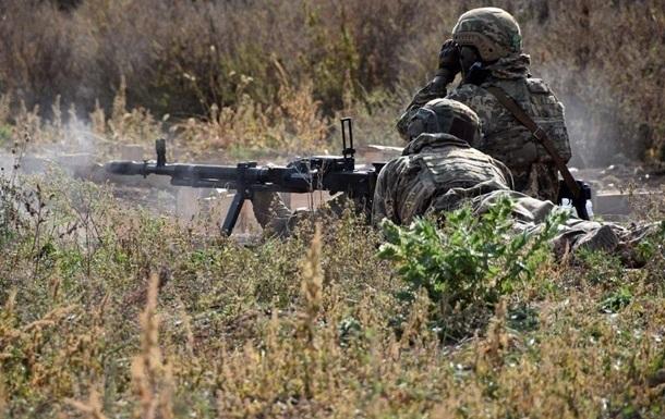 Сепаратисти з початку доби один раз обстріляли ЗСУ гранатометом