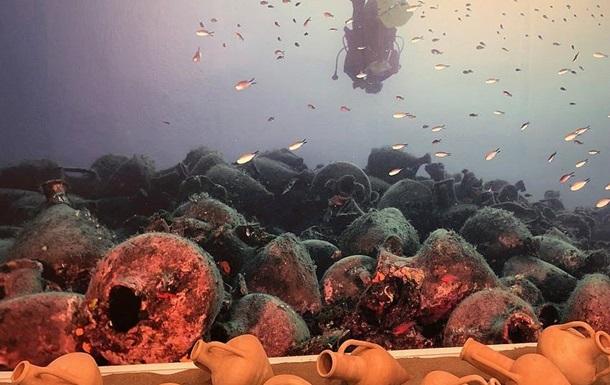 В Греции открыли первый подводный музей