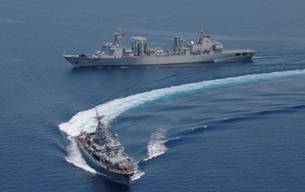 Російські військові почали навчання в Балтійському морі