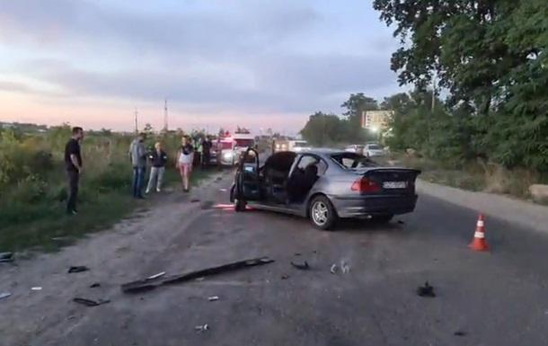 Лобовое столкновение под Киевом: есть погибший и пострадавшие