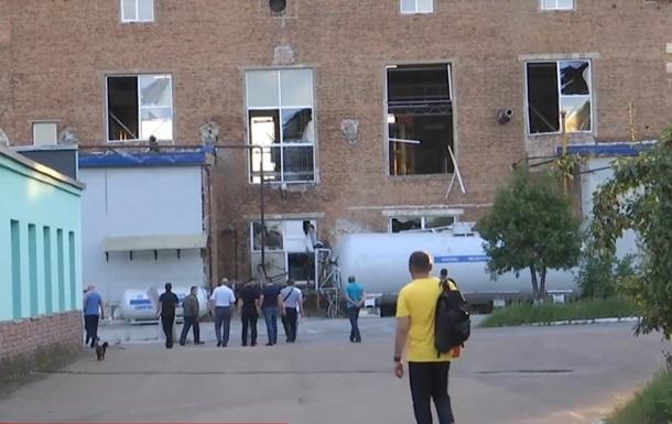 На химзаводе во Львове произошел взрыв