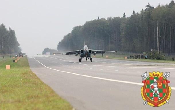 В Беларуси начались учения авиации и войск ПВО