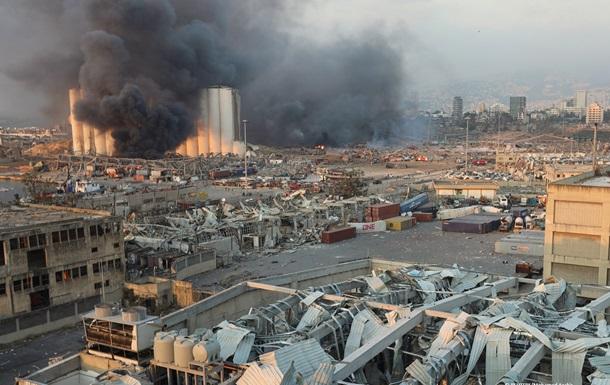 От взрыва в Бейруте могли пострадать два украинских судна - соцсети