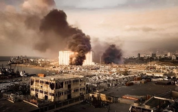 Взрыв в Бейруте слышали даже на Кипре