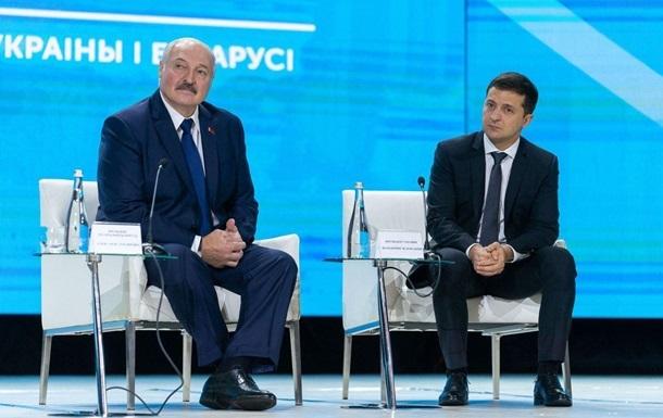 Зеленский переговорил с Лукашенко о боевиках