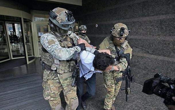 Суд арестовал захватчика банка в Киеве