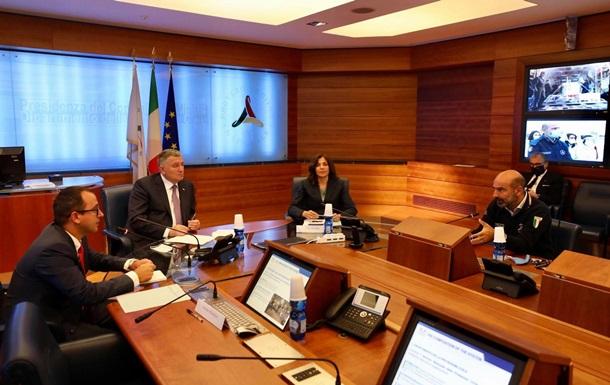 Украина и Италия будут взаимодействовать по вопросам ЧС — Аваков