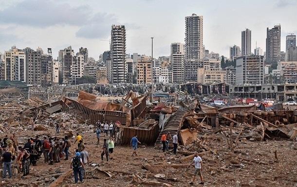 Збитки від вибуху в Бейруті оцінили в $ 15 млрд