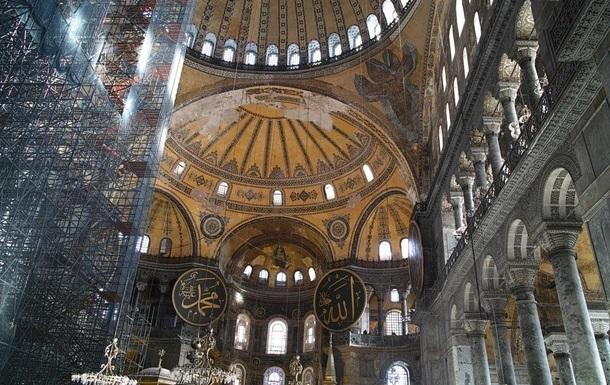 В соборе Святой Софии во время работы умер муэдзин