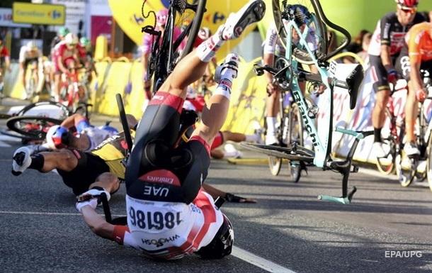 На велогонке Тур Польши пострадал победитель