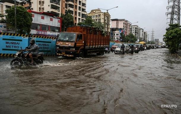 У Мумбаї випала рекордна кількість опадів
