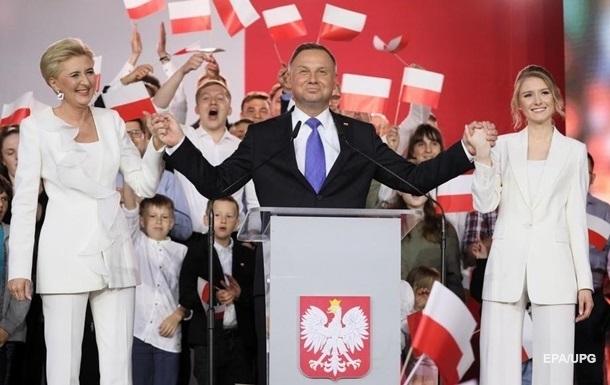 Дуда склав присягу і знову посів посаду президента Польщі