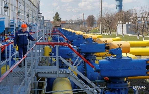 Транзит газу Україною впав на 25 млрд кубометрів