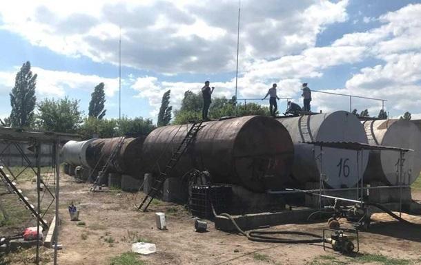На Черниговщине выявили подпольное производство топлива