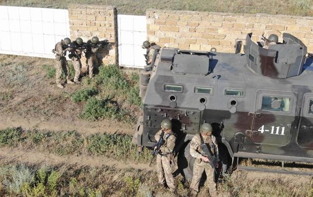 СБУ провела антитерористичні навчання на військовому об єкті