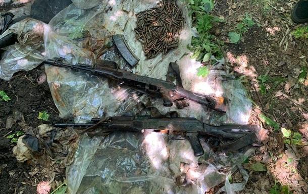 На Луганщині виявлено арсенал сепаратиста, який підірвав міст