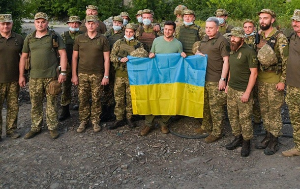 Зеленський: Україна виконує умови щодо Донбасу
