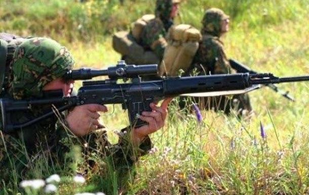 Окупаційні війська тренують розвідників та снайперів