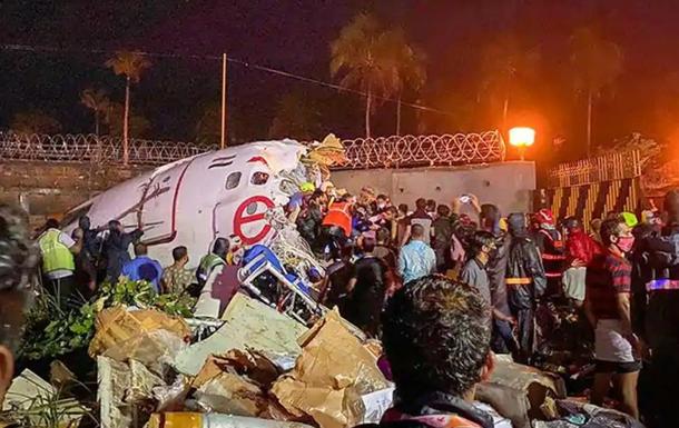 Авіакатастрофа в Індії: кількість жертв зросла