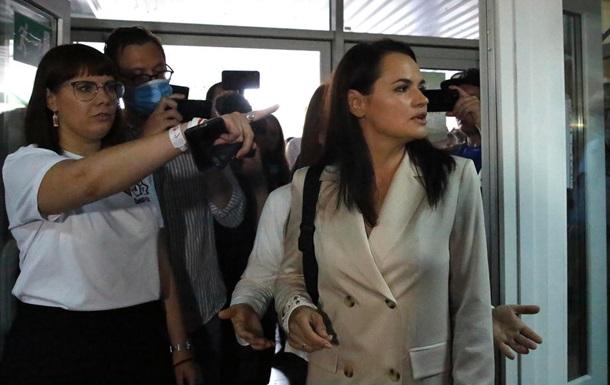 Тихановська заявила, що не визнає результати виборів