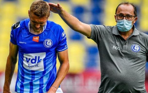 Украинский футболист получил травму пениса во время матча