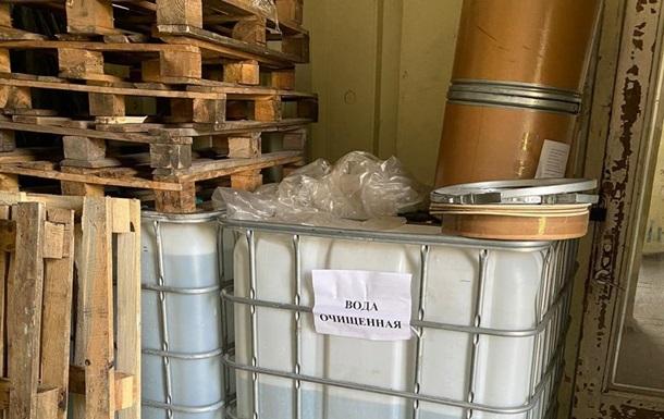 На Харьковщине нелегально изготовляли антисептики на спиртзаводе