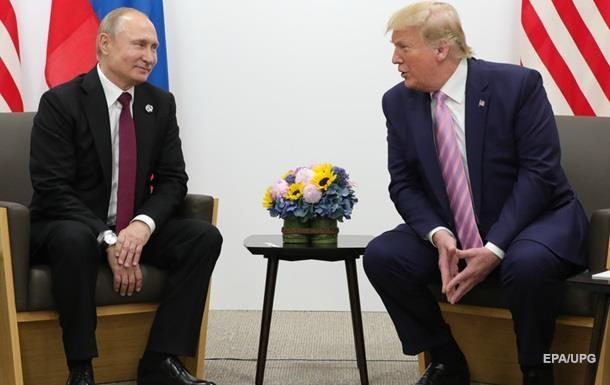 Трамп про Путіна: Я запросив би його на зустріч G7