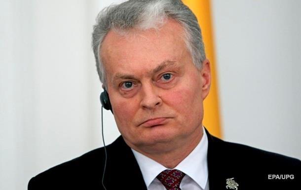 Президент Литвы призывает ввести жесткие санкции против Беларуси