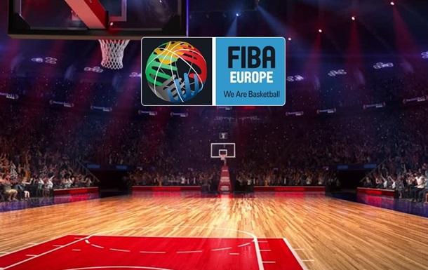 Киев-Баскет и Прометей попали в групповой этап Кубка ФИБА-Европа