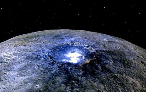 На карликовій планеті Церера знайдено підземний океан