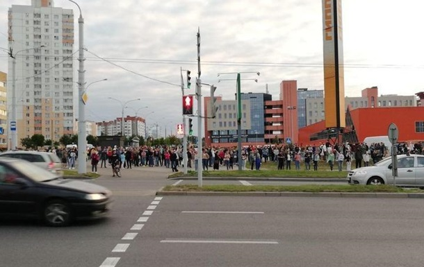По всій Білорусі пройшла акція солідарності