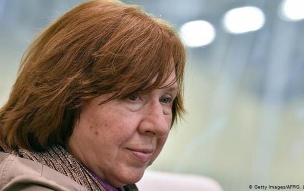Йди, поки не пізно  - Алексієвич закликає Лукашенка до відставки