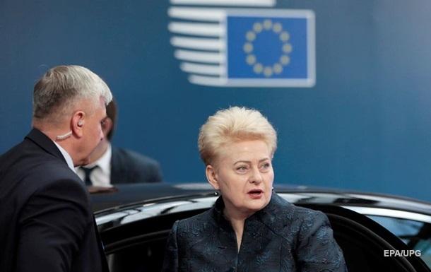 Даля Грибаускайте резко высказалась о Лукашенко