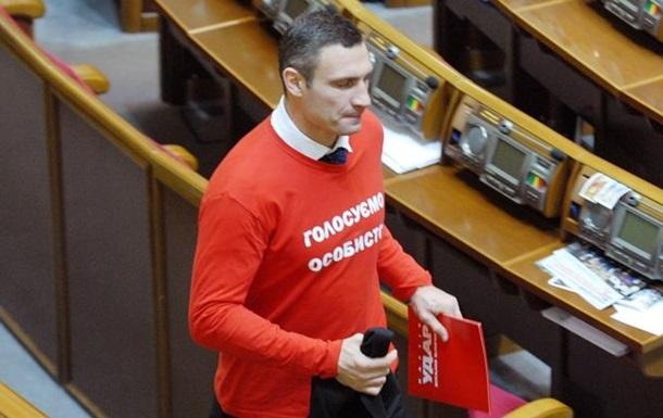 Выборы в Киеве выигрывает Кличко и его партия - опрос