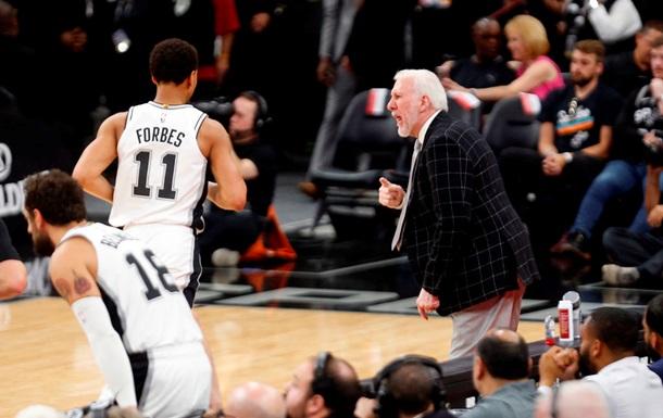 Сан-Антоніо не вийшов у плей-оф НБА вперше за 23 роки