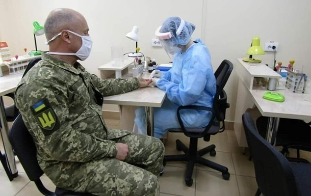 Около полусотни военных ВСУ заразились COVID за сутки