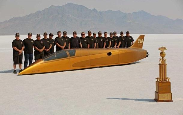 В США установили мировой рекорд скорости передвижения на земле: фото