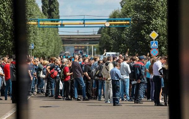 Тисячі працівників заводу влаштували ходу в Мінську