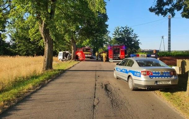 В Польше двое украинцев погибли в аварии - СМИ