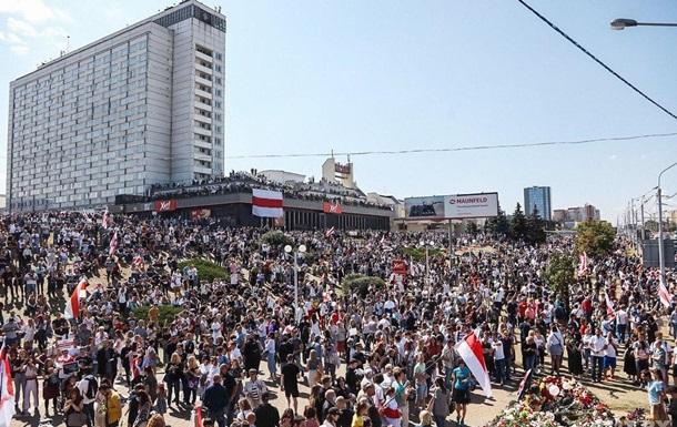 В Минске собираются на площади Независимости